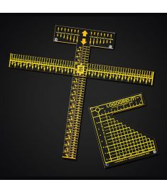 T SQUARE RULER WITH LOGOGRID IT