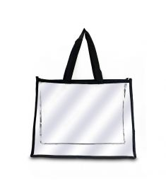 Plastic Tote Bag (15 x 12 x 4 Inchs)