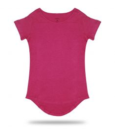Fuchsia Long Tee T-Shirt 50/50