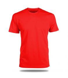 Round Neck T-Shirt-Red
