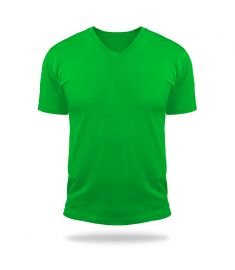 Tshirt V Neck Magic-Green