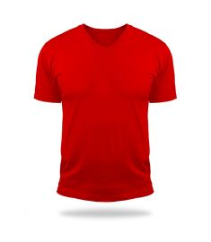 Tshirt V Neck Magic-Red
