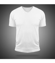 Tshirt V Neck Magic-White