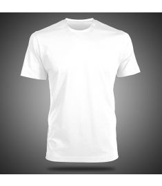 Round Neck T-Shirt-White