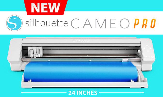 New Silhouette Cameo 4 Pro