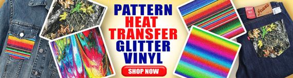 Banner Online HTV Glitter